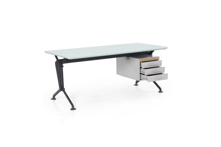 Metal Studio BBPR Desk For Sale