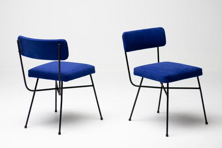 Studio BBPR Pair of Elettra Chairs by Arflex, 1954 For Sale 3