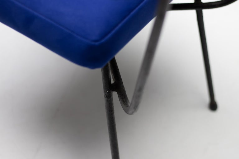 Studio BBPR Pair of Elettra Chairs by Arflex, 1954 In Good Condition For Sale In Dronten, NL