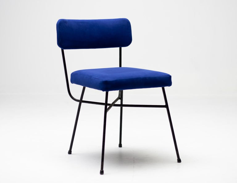 Steel Studio BBPR Pair of Elettra Chairs by Arflex, 1954 For Sale