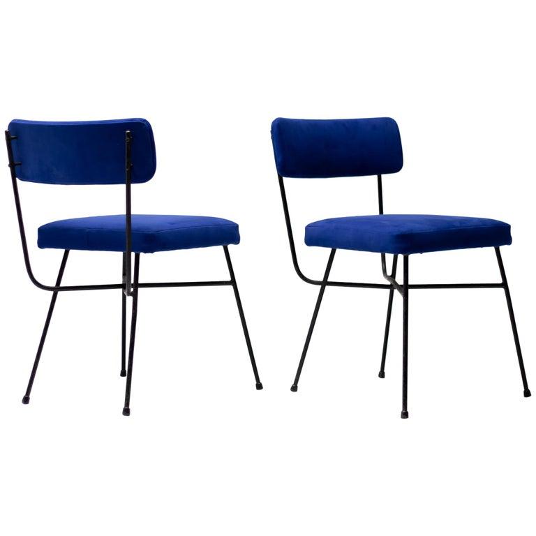 Studio BBPR Pair of Elettra Chairs by Arflex, 1954 For Sale