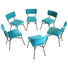 Studio BBPR, Series of 6 Elettra Chairs, Arflex, 1954