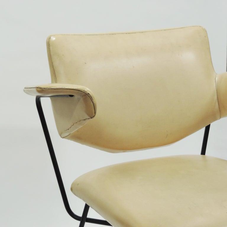 Mid-Century Modern Studio BBPR Urania Armchair for Arflex, Italy, 1954 For Sale
