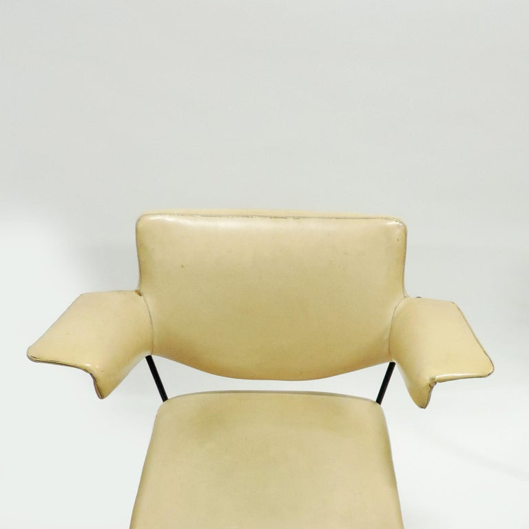 Italian Studio BBPR Urania Armchair for Arflex, Italy, 1954 For Sale