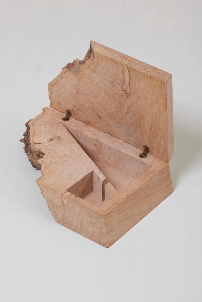 Wood Studio Box by American Craftsman Michael Elkan, US 'No 5' For Sale