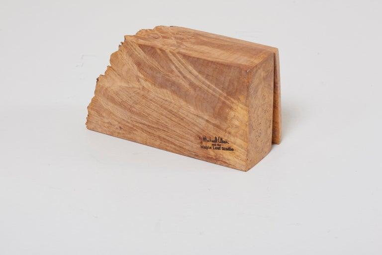 Wood Studio Box by American Craftsman Michael Elkan, US 'No 7' For Sale