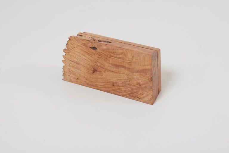 Wood Studio Box by American Craftsman Michael Elkan, US, 'No 8' For Sale