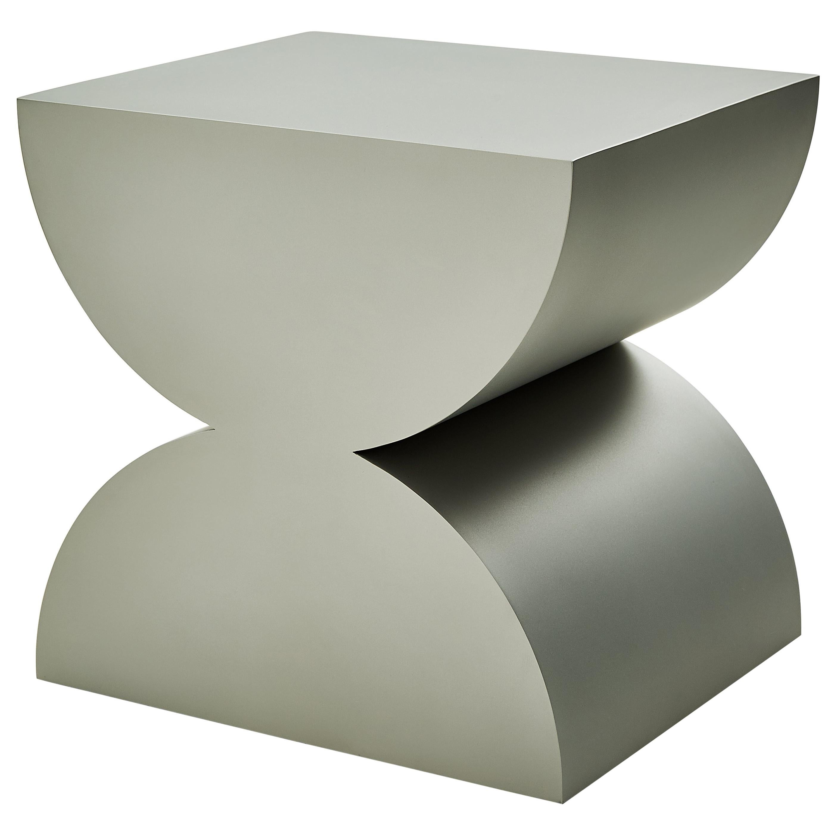 Studio Brancusi IISculptural Side Table Matte Steel Customizable