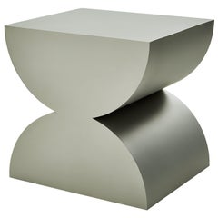 Studio Brancusi IISculptural Side Table Matte Steel Customizable