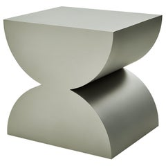 Studio Brancusi II Sculptural Side Table Matte Steel Customizable
