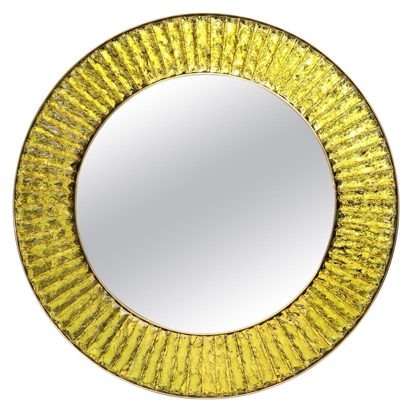 Studio-Built Circular Mirror by Ghiró Studio, Italy