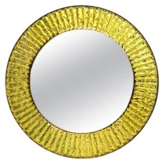 Studio-Built Circular Mirror by Ghiró Studio, Italy
