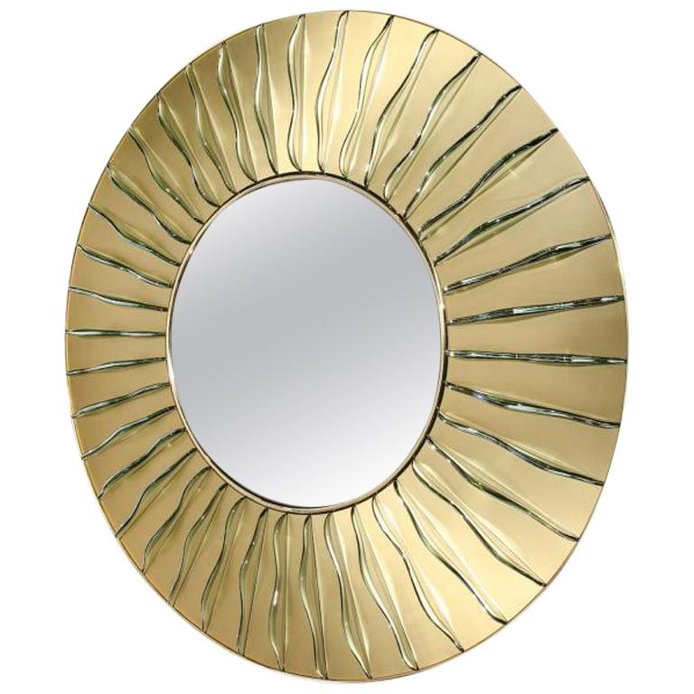 "Studio-Built ""Loumar"" Mirror"
