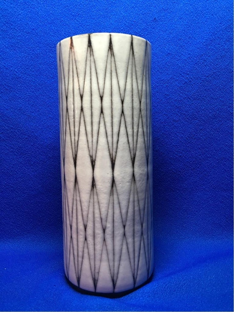 Mid-20th Century Studio Ceramic Vase by Wilhelm and Elly Kuch of Germany For Sale