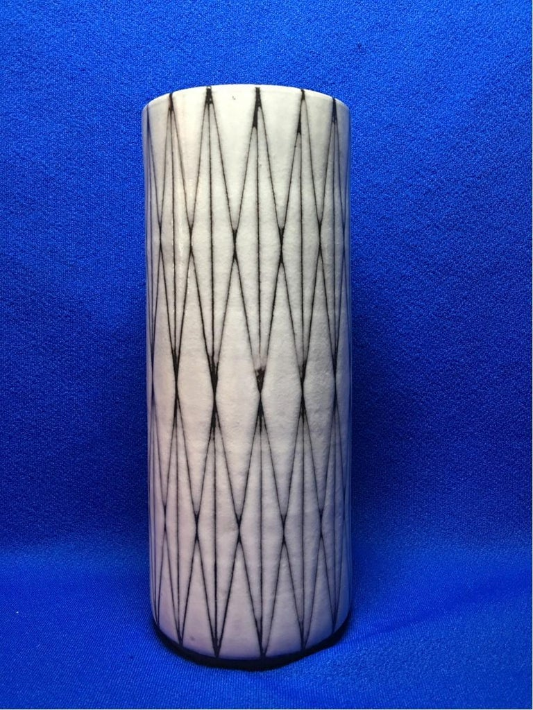 Studio Ceramic Vase by Wilhelm and Elly Kuch of Germany For Sale 1
