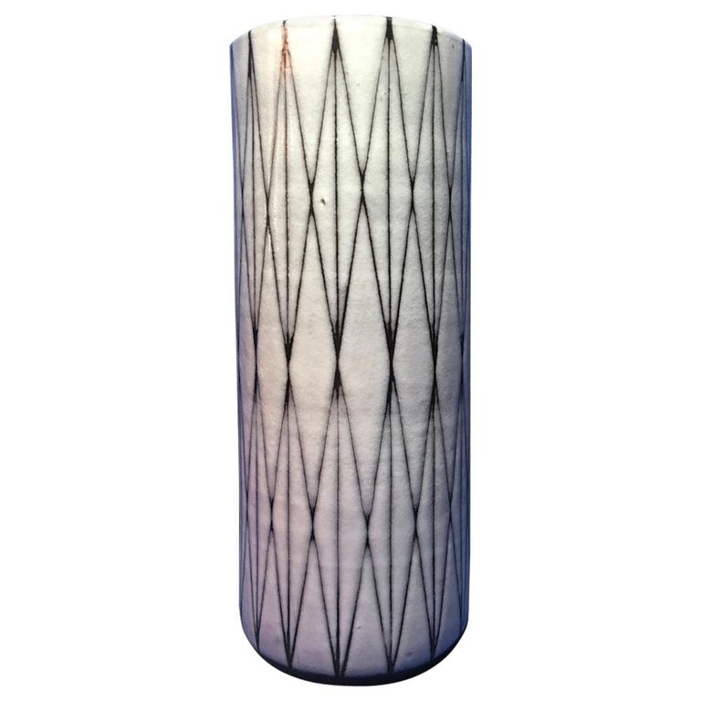 Studio Ceramic Vase by Wilhelm and Elly Kuch of Germany For Sale
