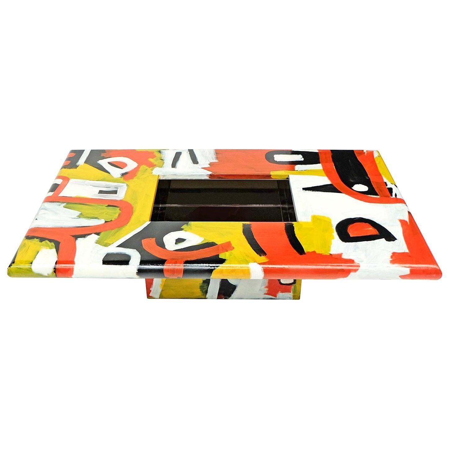 Studio Coffee Table a Bespoke Piece of Art Furniture Tribal Design