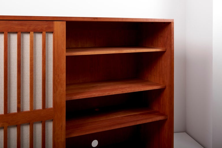 Studio Craft Cabinet by Arden Riddle, US, 1960s For Sale 11
