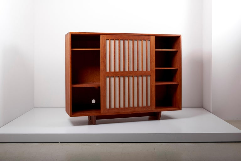 Mid-Century Modern Studio Craft Cabinet by Arden Riddle, US, 1960s For Sale