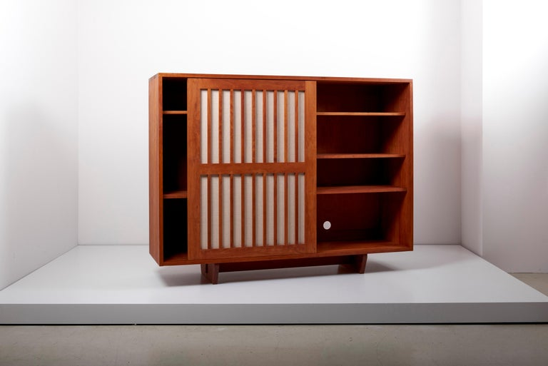 American Studio Craft Cabinet by Arden Riddle, US, 1960s For Sale