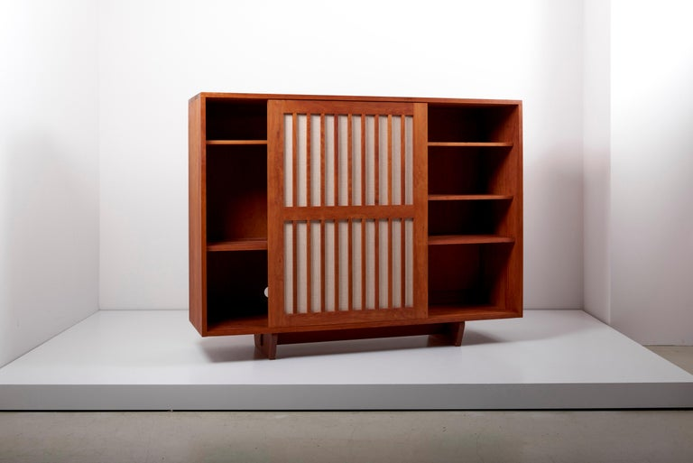 Studio Craft Cabinet by Arden Riddle, US, 1960s In Good Condition For Sale In Berlin, DE
