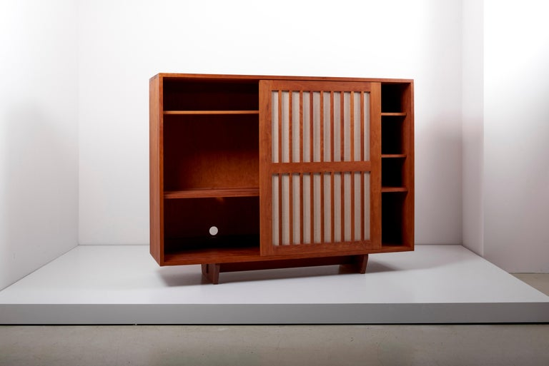 Wood Studio Craft Cabinet by Arden Riddle, US, 1960s For Sale