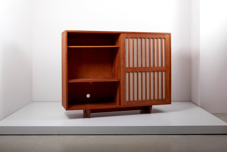Studio Craft Cabinet by Arden Riddle, US, 1960s For Sale 2