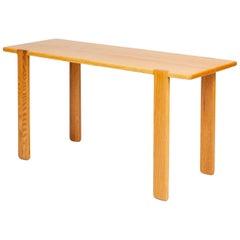 Studio Craft Console Table in American Oak