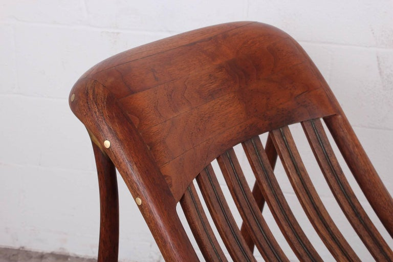 Studio Craft Rocking Chair by David Crawford In Good Condition For Sale In Dallas, TX