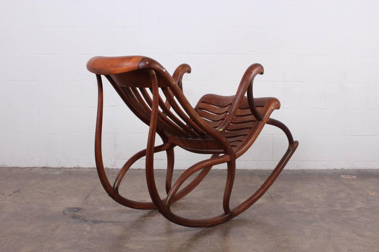 Studio Craft Rocking Chair by David Crawford For Sale 3