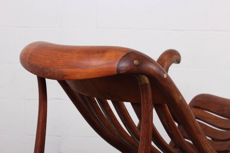 Studio Craft Rocking Chair by David Crawford For Sale 4