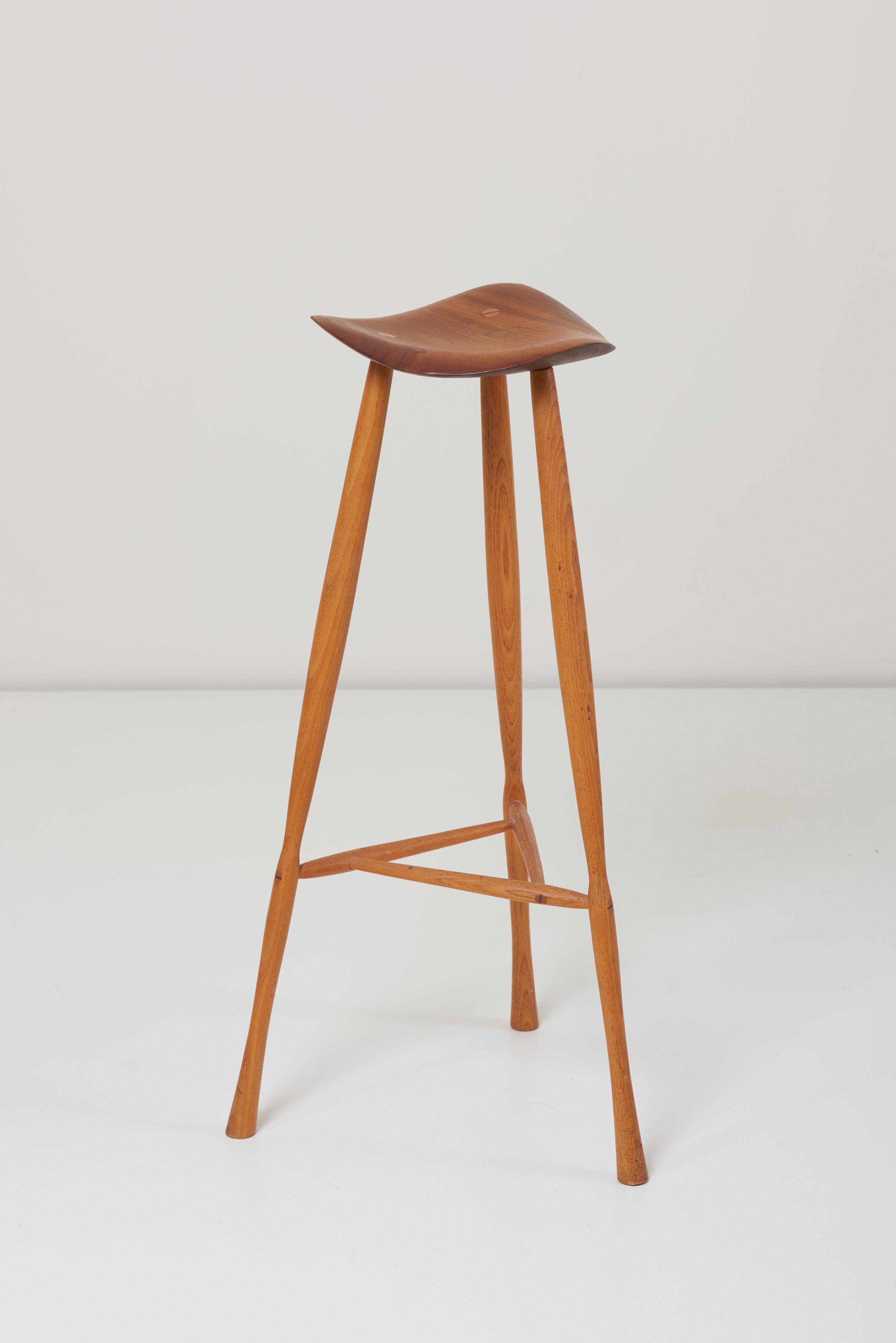 Admirable Studio Craft Stool By Karl Seemuller Us 1975 Beatyapartments Chair Design Images Beatyapartmentscom