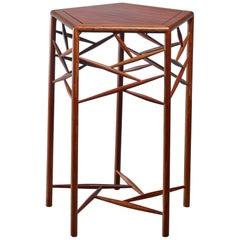 Studio Craft Wood Side Table, American, 1960s