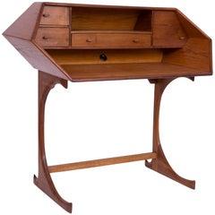 Studio Crafted One off Walnut and Oak Desk