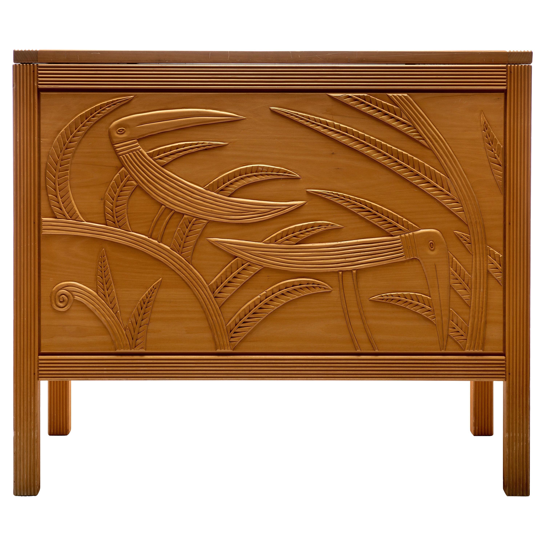 Studio Furniture Chest by Judy McKie
