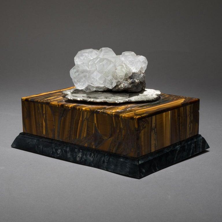 Quartz Studio Greytak 'Bling Box 6' Fluorite, Pyrite Sun, Amber, Topaz and Meteorite For Sale
