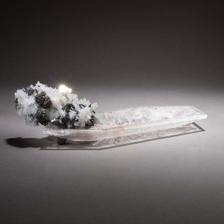 """Crystal Bling bowl 13  Since antiquity, traditional healers have called quartz the """"master healer"""" because it amplifies the power of other elements nearby and because it can be programmed by focusing intention upon it. This allows one to achieve"""