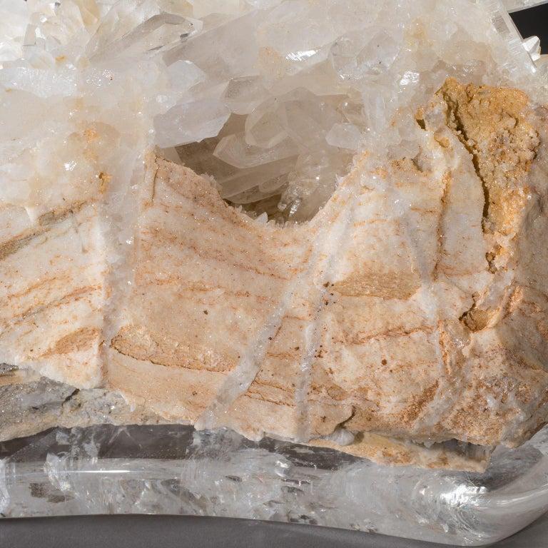Studio Greytak 'Himalayan Quartz on Crystal Base' Meru Peak Clear Quartz For Sale 2