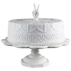 Studio Job Cake of Peace Biscuit Porcelain Centerpiece