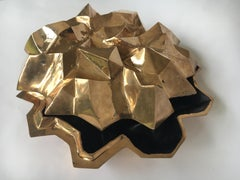 bronze rock box STUDIO JOB centerpiece