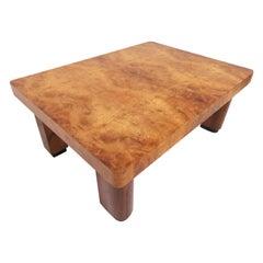 Studio Made Brazilian Burl Wood Coffee Table, circa 1970s