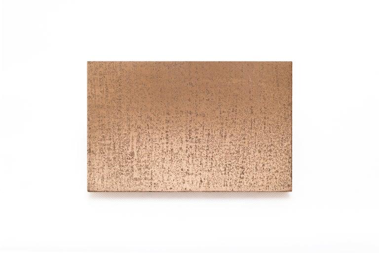 Wave, StudioManda, CoffeeTable, Wood, Liquid Metal, Limited Edition, Lebanon2012 For Sale 3