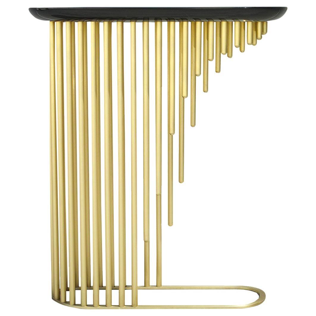 Charleston, StudioManda, Console, Brass, Resin, Limited Edition, Lebanon 2018