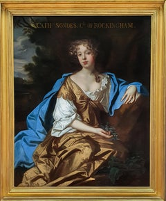 Portrait of Catherine Watson, Countess of Rockington (1658-1695)