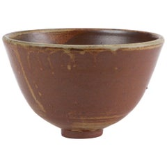 Studio Pottery Bowl with Small Foot