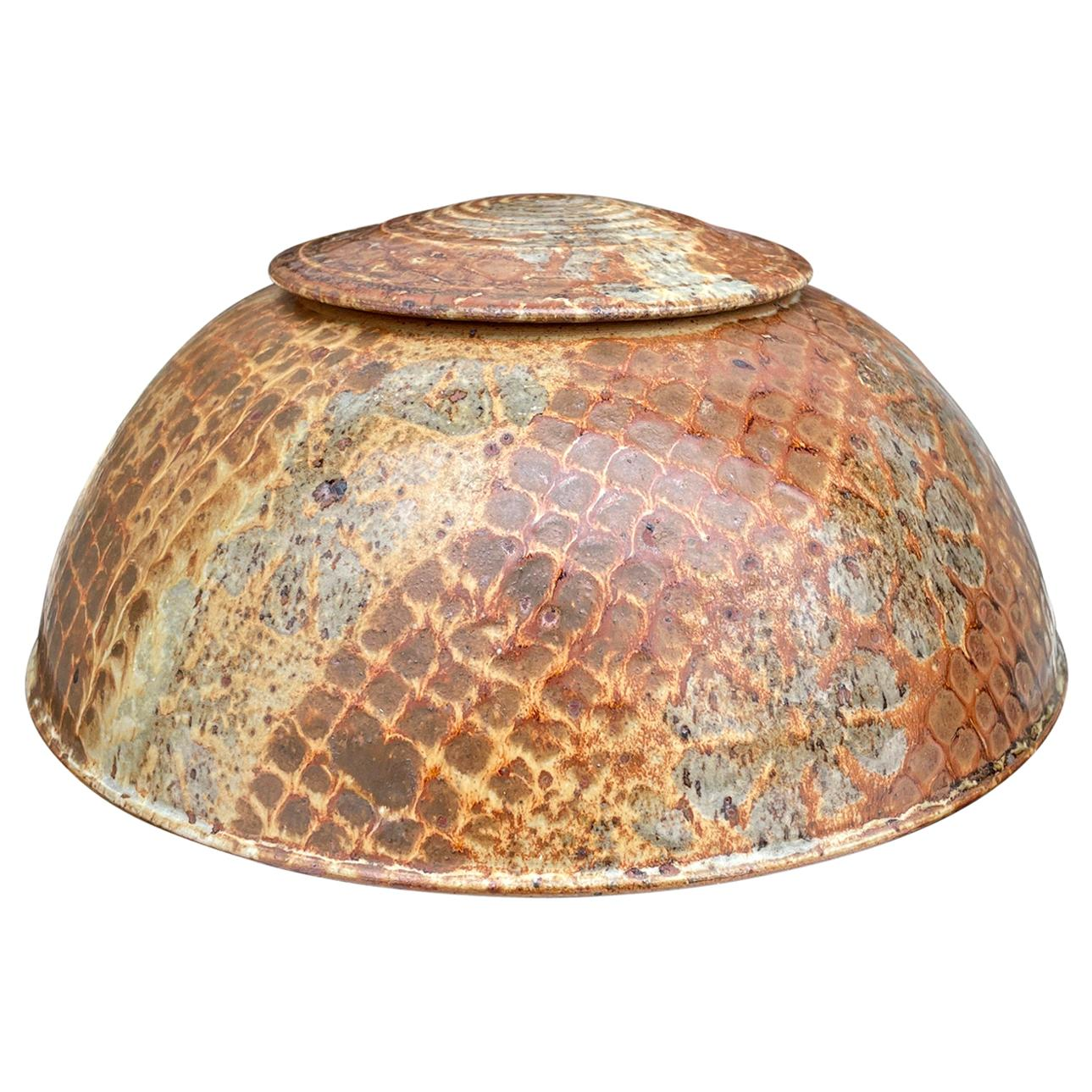 Studio Pottery Lidded Jar
