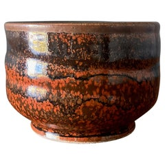 Studio Pottery Signed Bowl, circa 1980