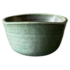 Studio Pottery Signed Ceramic Planter