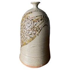 Studio Pottery Signed Ceramic Vase, circa 1975