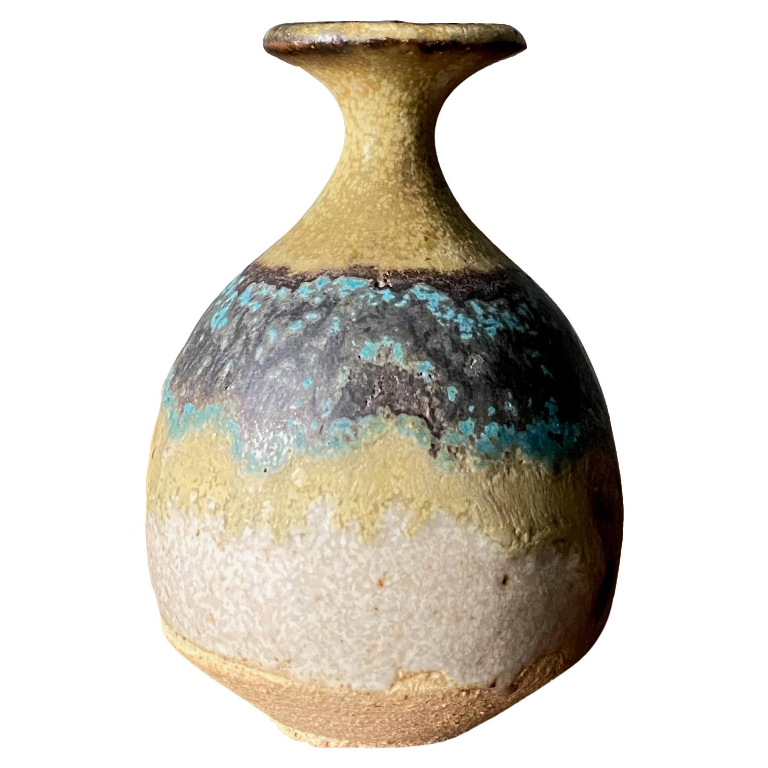 Studio Pottery Signed Ceramic Weed Pot, circa 1970